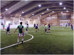 impressed with the 26,000 sq.ft. indoor soccer complex, and the intense ...