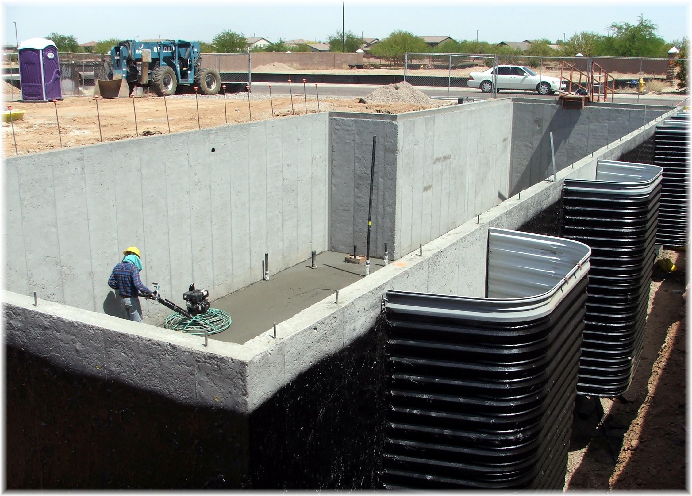 Phoenix Arizona Waterfront Homes Basement In The Making