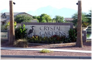Phoenix Arizona Waterfront Homes Crystal Gardens