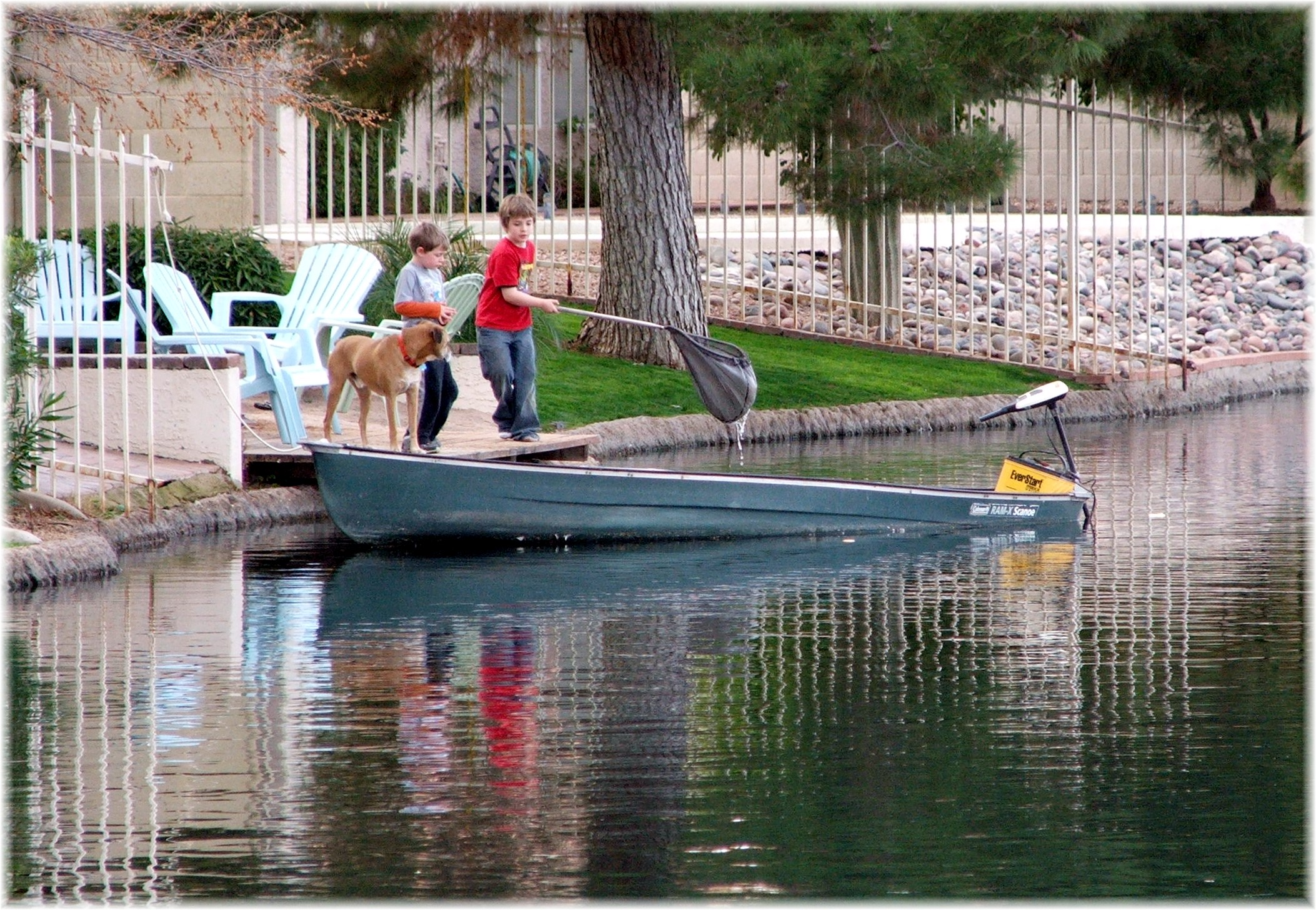 pecos ranch boating in waterfront community in chandler phoenix
