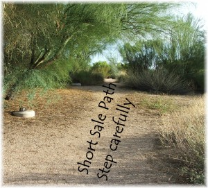 Riparian Preserve Short  sale path