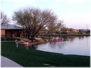 Power Ranch Clubhouse and Lake