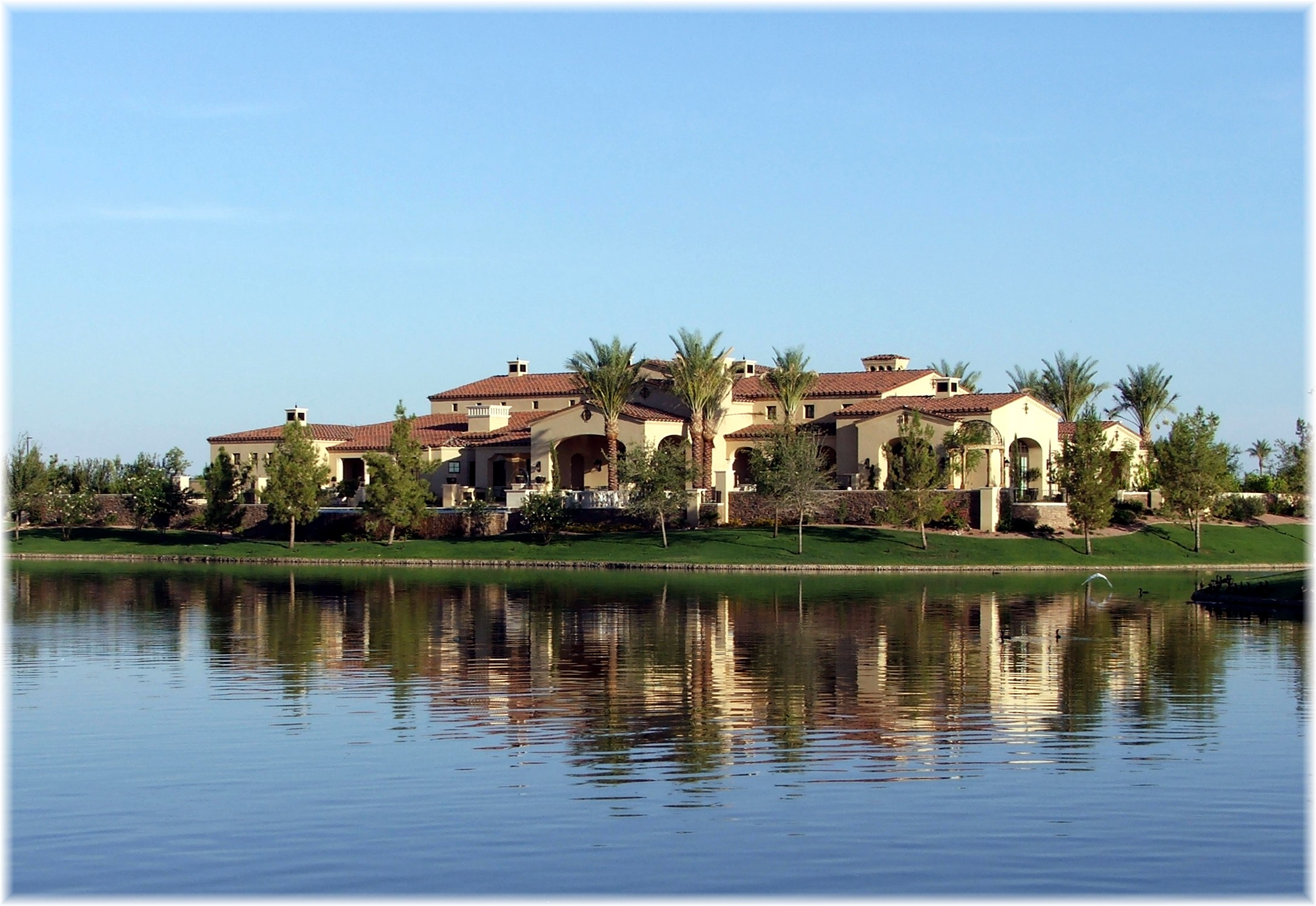 Phoenix Arizona Waterfront Homes Ocotillo Lakes