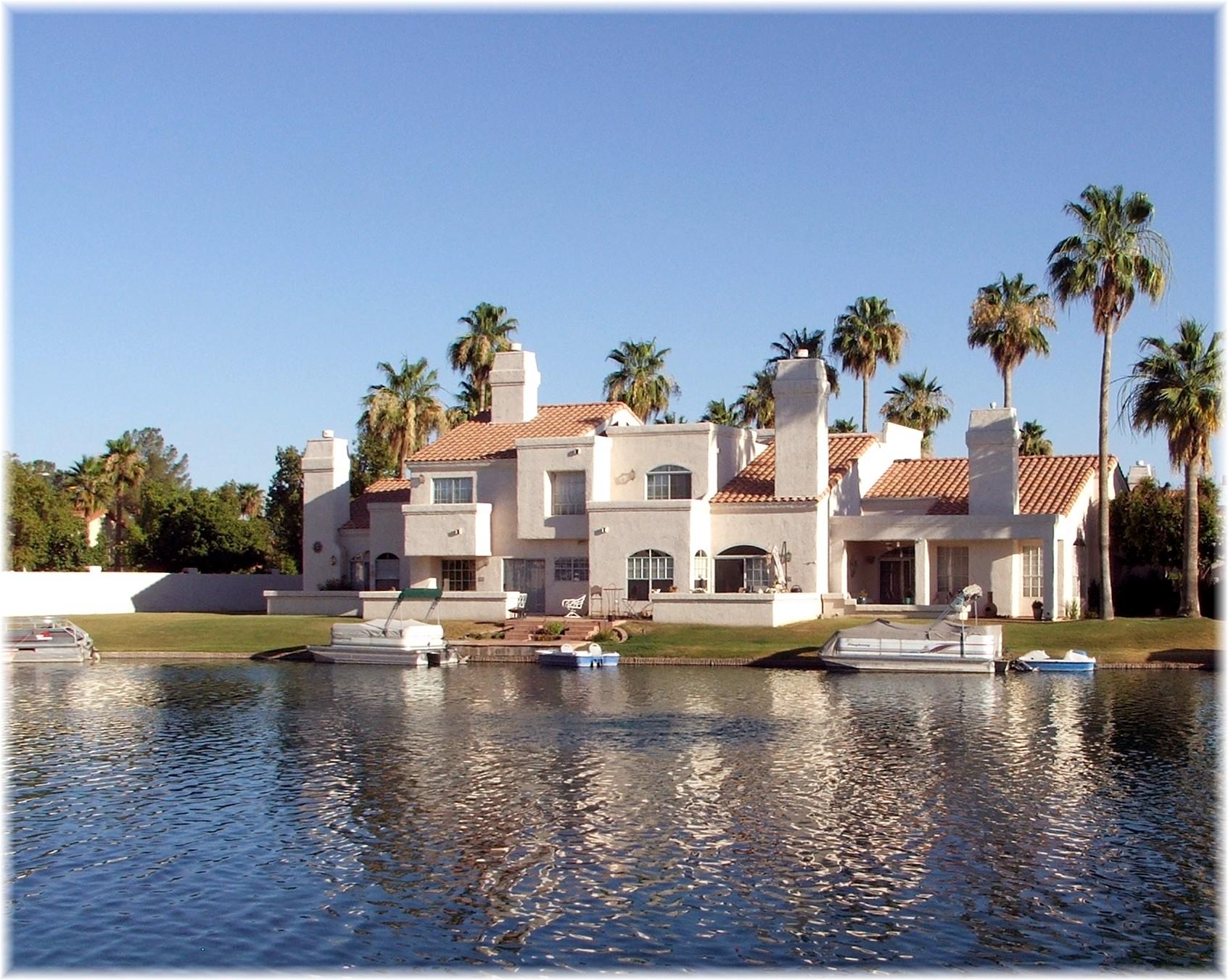 Phoenix Arizona Waterfront Homes» Boating in Phoenix Lake Communities