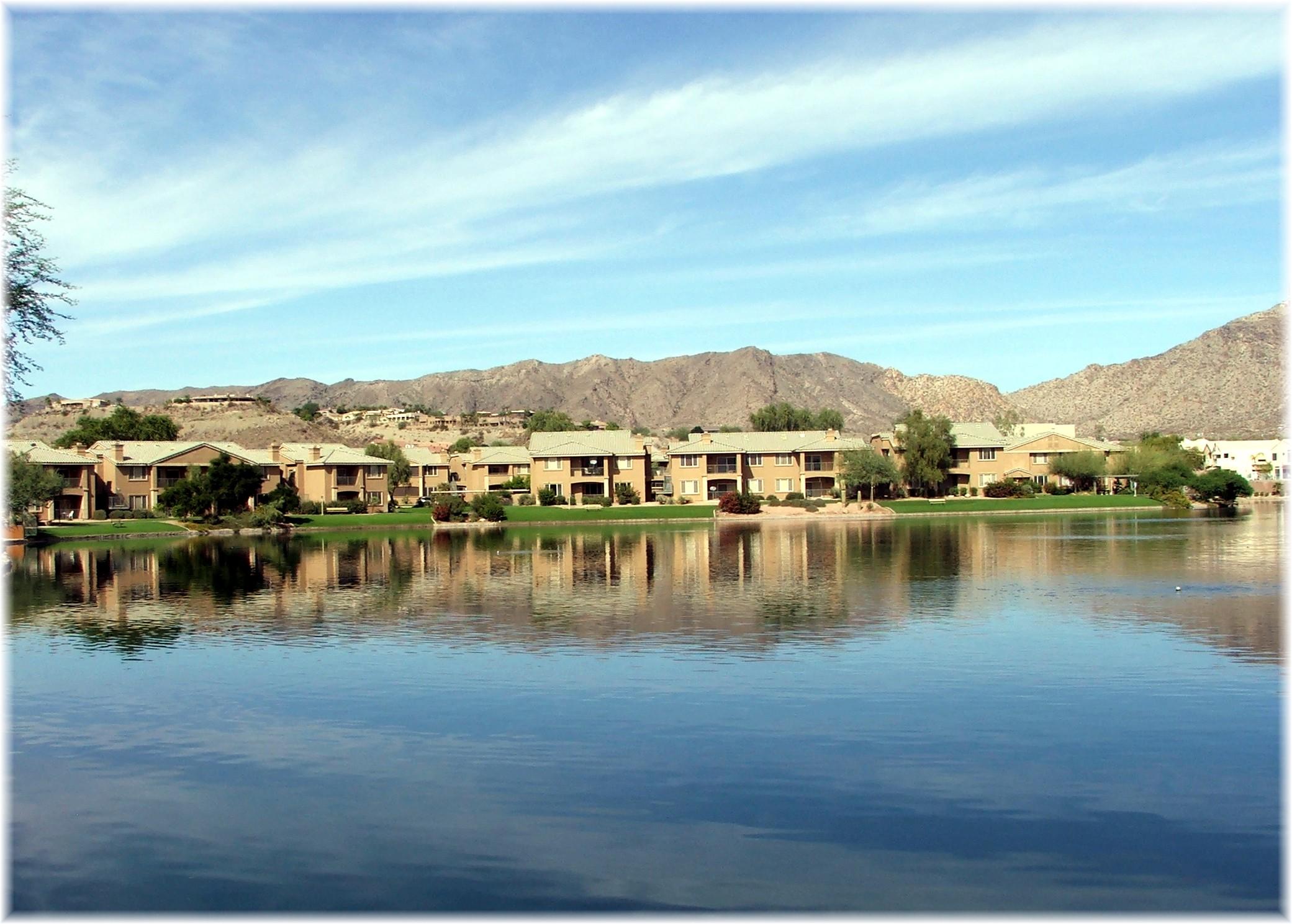 Phoenix Arizona Waterfront Homes Ahwatukee Foothills