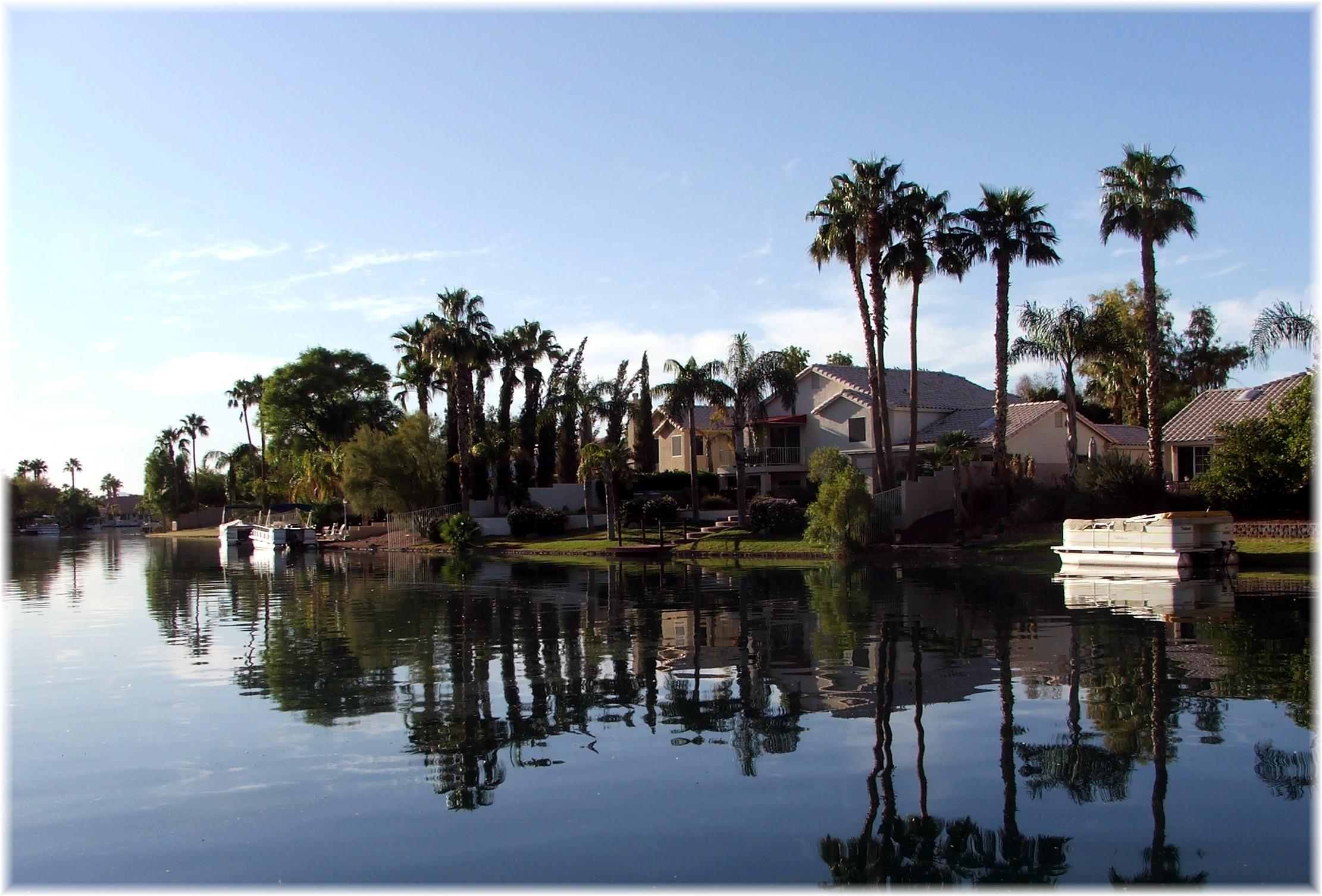 phoenix arizona waterfront homes» waterfront homes at the islands