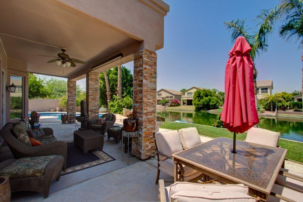 Phoenix Arizona Waterfront Homes» Ocotillo Luxury ... on Waterfront Backyard Ideas id=25502